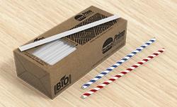 Canudo de Papel com Caixa Personalizada