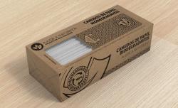 Canudo de Papel com Caixa Padrão