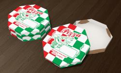 Caixa de Pizza Estampada - Caixa de Pizza 25cm