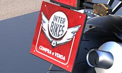 Cobre Placa para Moto