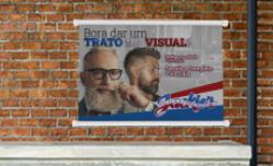 Banner com Bastão Largo